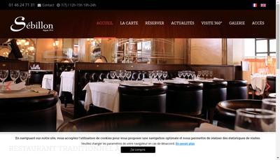 Site internet de Sebillon