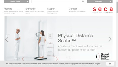 Site internet de Seca