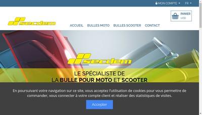 Site internet de Secdem