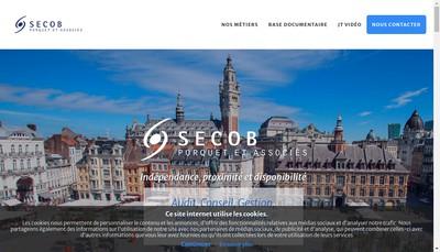 Site internet de Secob Porquet et Associes SA d'Expertise Comptable et de Commissariat aux Comptes