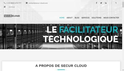 Site internet de Secur One