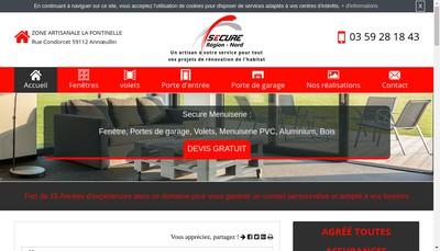 Site internet de Secure