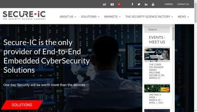 Site internet de Secure-Ic SAS