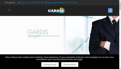 Site internet de Gardis