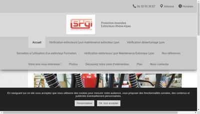 Site internet de Spgi