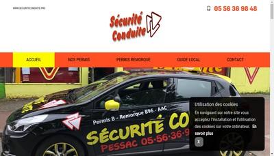 Site internet de Securite Conduite