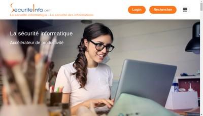 Site internet de Securiteinfo Com