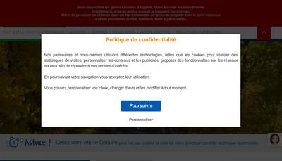Site internet de Securitest