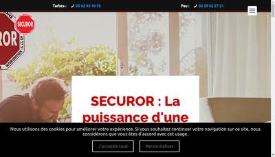 Site internet de Sap Intervention