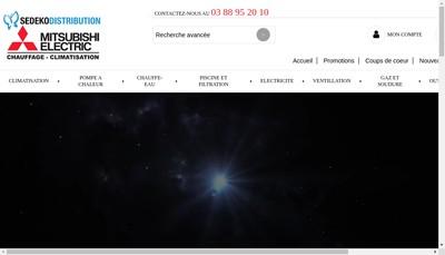 Site internet de Sedeko Distribution