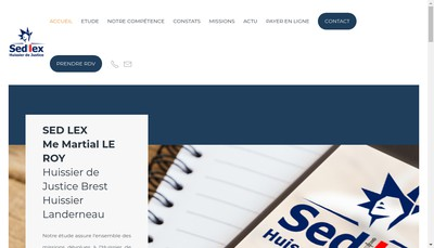 Site internet de Sed Lex