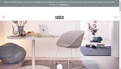Site internet de Sedus
