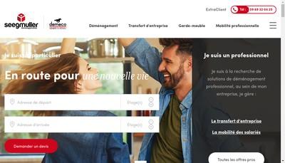 Site internet de Seegmuller Paris