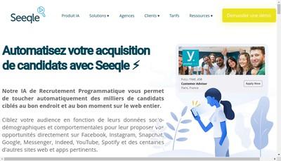 Site internet de Seeqle