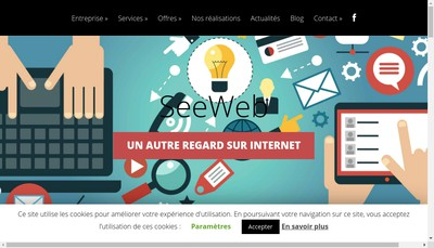 Site internet de Seeweb