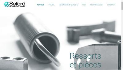 Site internet de Sefard SCOP