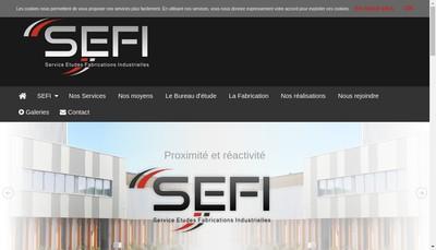 Site internet de Sefi
