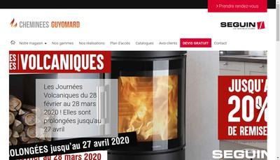 Site internet de SARL Guyomard