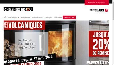 Site internet de SARL Renou
