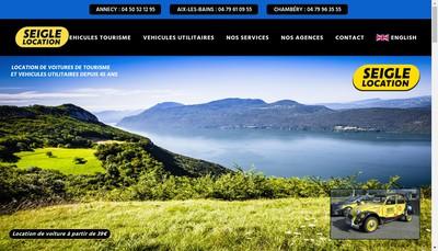 Site internet de Seigle Location-Aix Pieces Auto