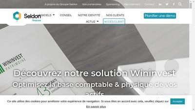 Site internet de Seldon Fin SAS