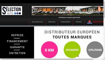 Site internet de Selection Auto