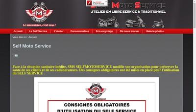 Site internet de Sms Self Moto Service