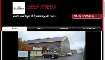 Site internet de Self Pneus