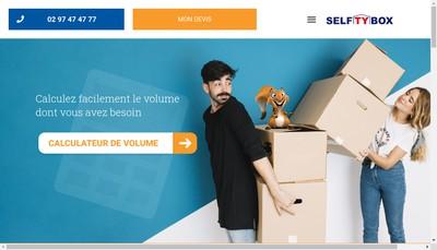 Site internet de Selftybox