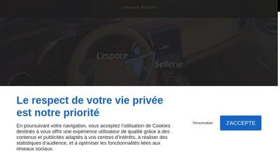 Site internet de Espace Barriere Masquage