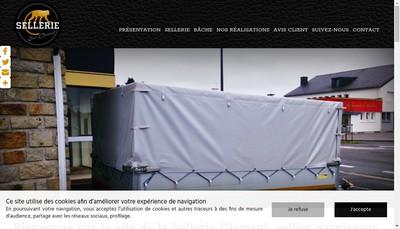Site internet de Sellerie Eric Clement