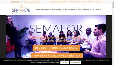 Site internet de Relais Ressources Humaines - Rrh