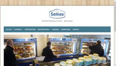 Site internet de Semau