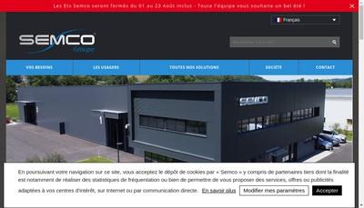 Site internet de Vigilia Tronic Semco Tronic