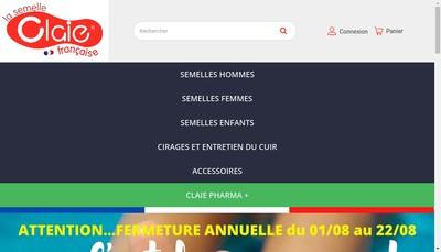 Site internet de Euro Semelles