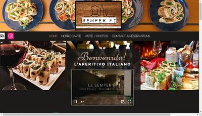 Site internet de SAS Semper-Fi
