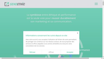 Site internet de Message Business