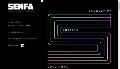 Site internet de Senfa