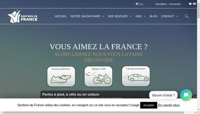 Site internet de La Caminade