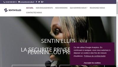 Site internet de Sentin'Elles Privee