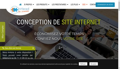 Site internet de Seomedias