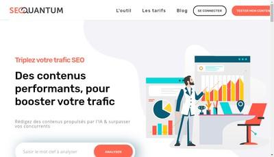 Site internet de Seoquantum