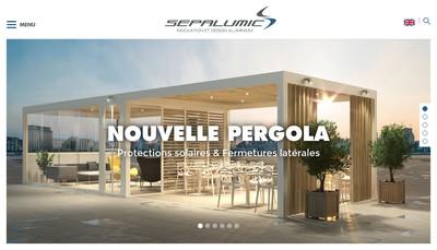 Site internet de Sepalumic Diffusion