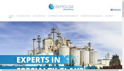 Site internet de Sepiolsa France