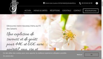 Site internet de Le Septentrion