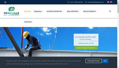 Site internet de Sequale
