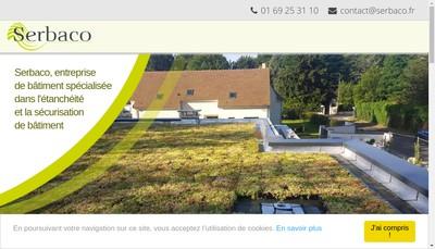 Site internet de Serbaco