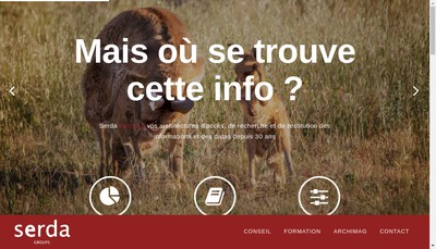 Site internet de Serda SAS