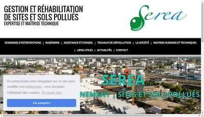 Site internet de Serea