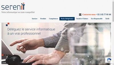 Site internet de Sereniit